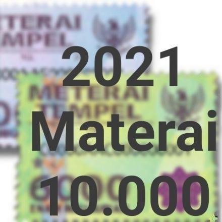 Mulai Januari 2021, Bea Materai Berlaku 10.000