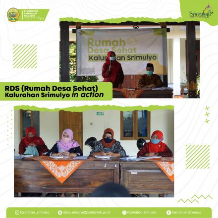 RDS (Rumah Desa Sehat) Kalurahan Srimulyo in Action