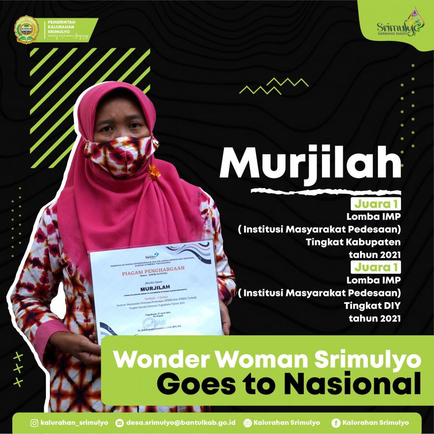 Wonder Woman Srimulyo Goes To Nasional